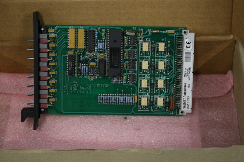Neles Metso Valment Automation A413153 Binary Output Card