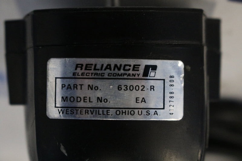 Reliance Electric 63002-R / EA Tachometer Generator Acuse
