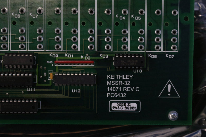 Keithley MSSR-32 14071 32 Channel System Backplane