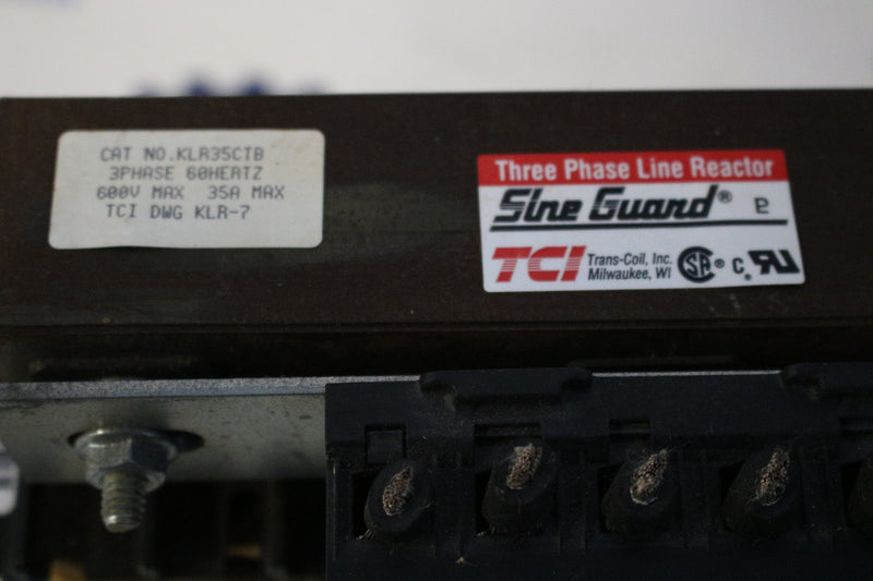 Sine Guard TCI KLR35CTB 3 Phase Line Reactor