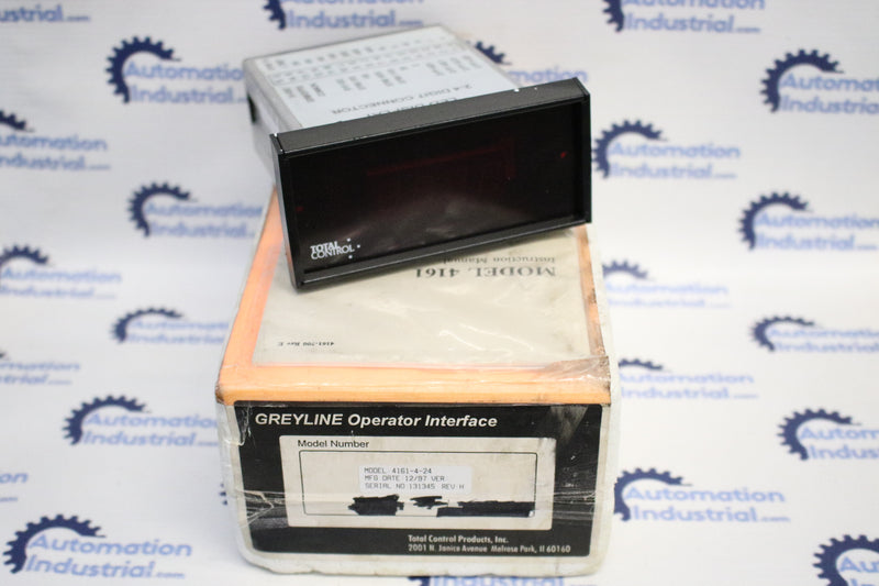 Cincinnati Electrosystems 4161-4-24 Display Interface