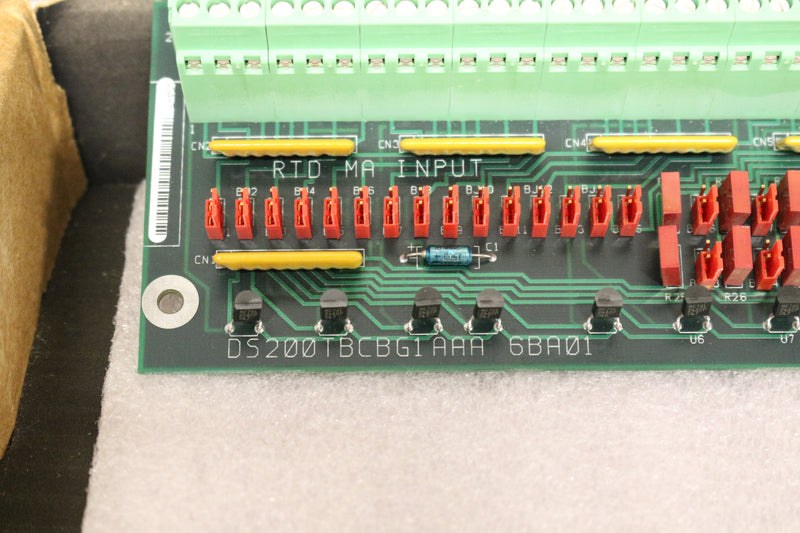 GE DS200TBCBG1A DS200TBCBG1AAA Termination Analog Card Mark V NEW