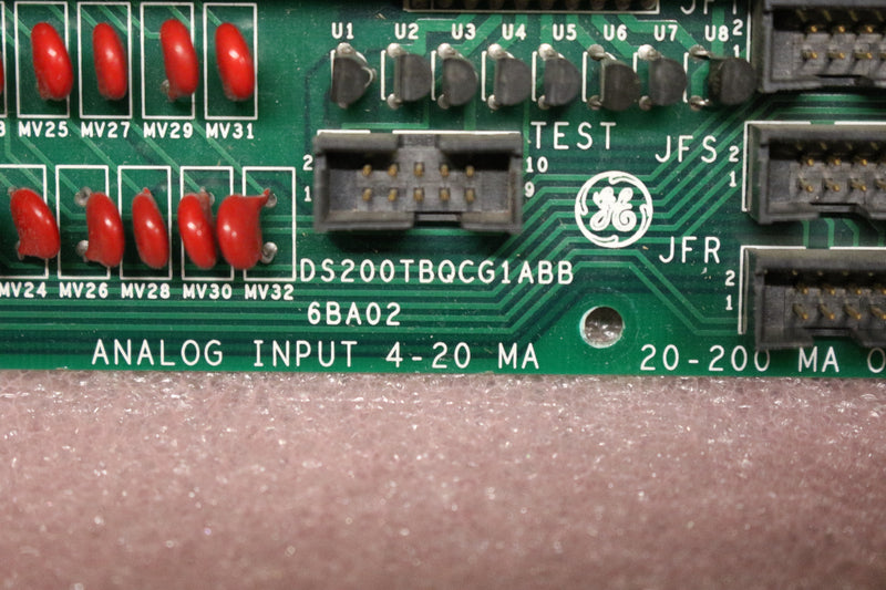 GE DS200TBQCG1A DS200TBQCG1ABB RST Analog Termination Board Mark V