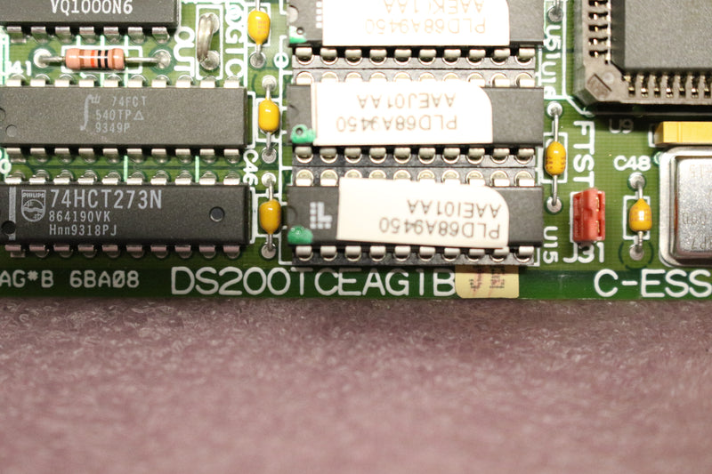 GE DS200TCEAG1B DS200TCEAG1BJE Emergency Overspeed Board Mark V