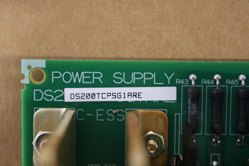 GE DS200TCPSG1A DS200TCPSG1ARE Power Supply DC Input Board Mark V