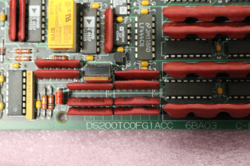 GE DS200TCQFG1A DS200TCQFG1ACC TC2000 Analog I/O Extender Board Mark V OPEN BOX