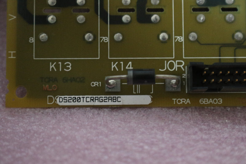 GE DS200TCRAG2A DS200TCRAG2ABC Relay Output Board Mark V