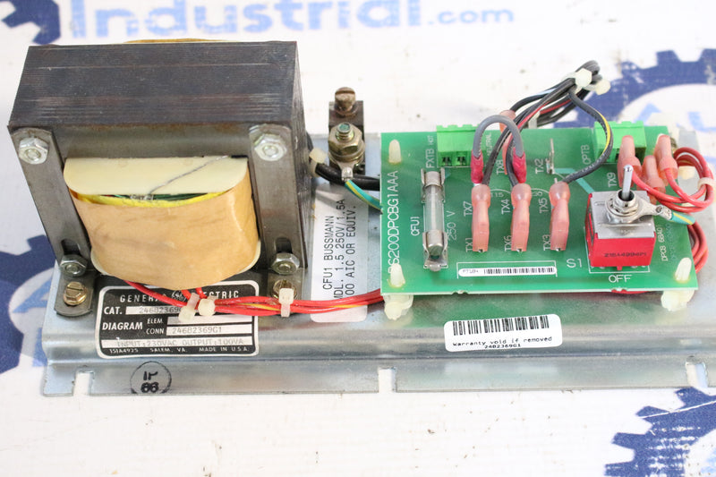 GE 246B2369G1 With DS200DPCBG1A Power Supply Assembly Mark V