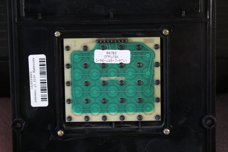 GE 336A3397P1 88JB2 Display Panel With Keypad Mark V Boards