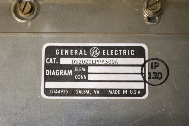 GE DS2020LPPA300 DS2020LPPA300A With DS200LPPAG1AAA Line Protector Mark V