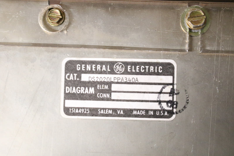 GE DS2020LPPA340 DS2020LPPA340A With DS200LPPAG1ABA Line Protector Mark V