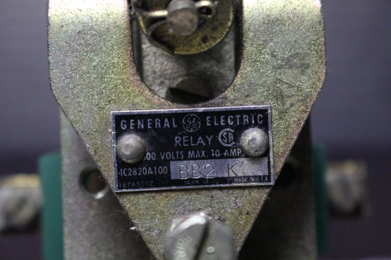 GE IC2820A100BB2 IC2820A100BB2K 600V 10 AMP Relay