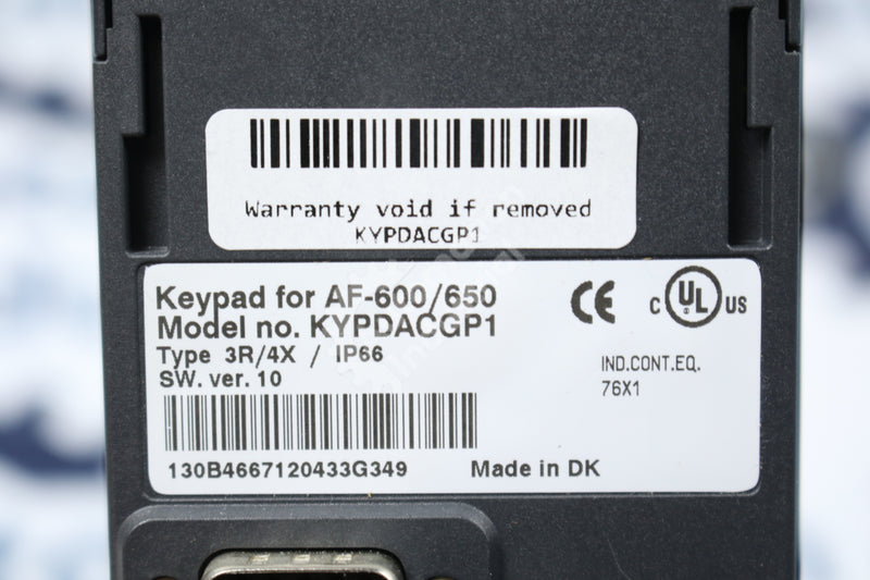 GE General Electric KYPDACGP1 Replacement Gaphical Keypad