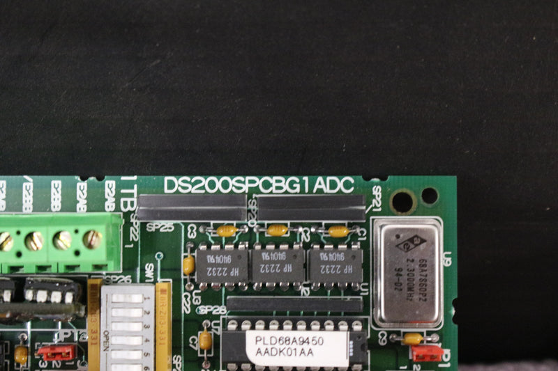 GE DS200SPCBG1A DS200SPCBG1ADC Multi-Bridge Signal Processing Board Mark V NEW