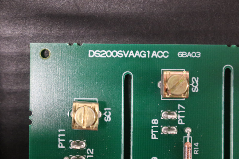 GE DS200SVAAG1A DS200SVAAG1ACC Voltage Attenuator Board Mark V OPEN BOX