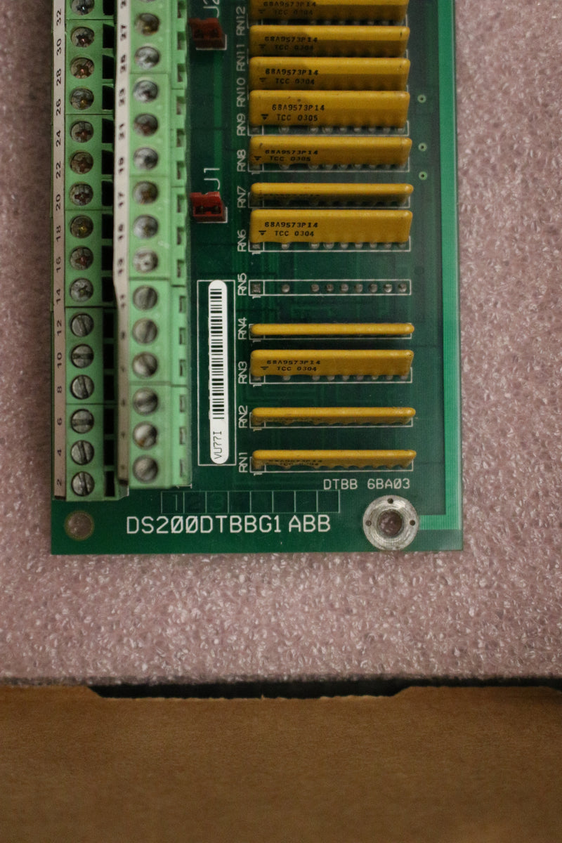 GE DS200DTBBG1A DS200DTBBG1ABB Terminal Digital Connector Board Mark V
