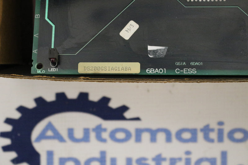 GE DS200GSIAG1A DS200GSIAG1ABA Common DC Bus Regenerative Board Mark V OPEN BOX