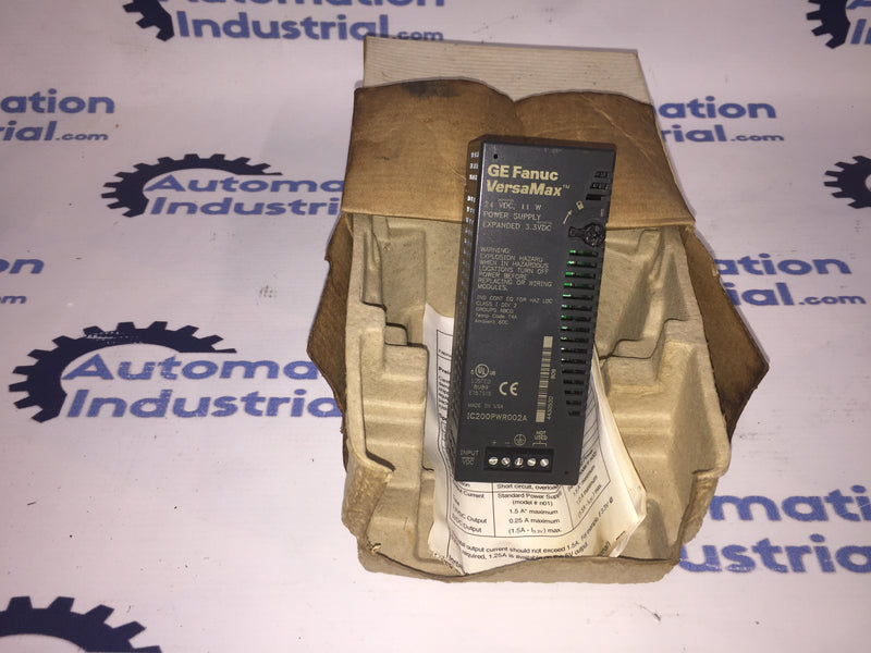 GE Fanuc IC200PWR002 Power Supply Module