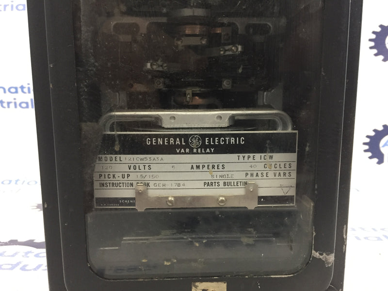 General Electric 12ICW53A3A Var Relay