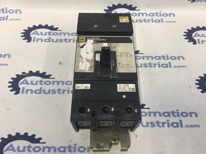 Square D KA362251021 Circuit Breaker