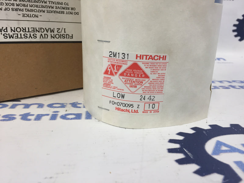 Hitachi 2M131-10 Electron Tube Magnetron LOW