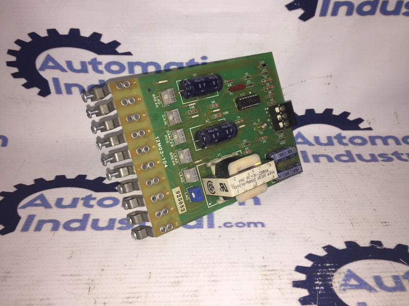 Contrex 12M03-104 Regulator Board