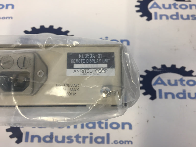 Anritsu Corp. KL350A-31 Remote Display Module (NEW W/ BOX)