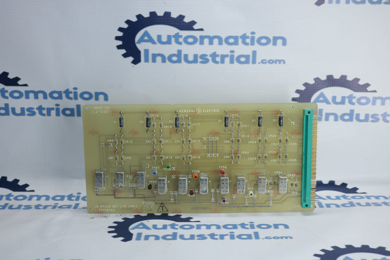 GE 117D7787G2 LD RT/LD SET LIM Logic Board