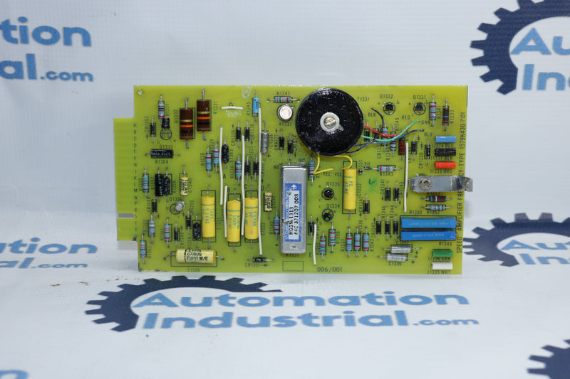 GE 1579K43G701 006/001 44A307702 Speed Amplifier Frequency-Type Board