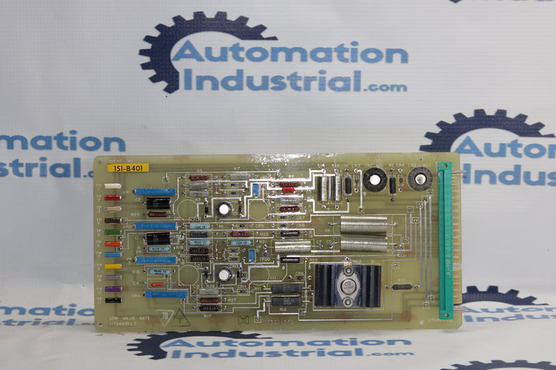 GE 117D6635G Low Value Gate PCB Board