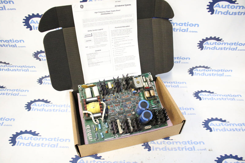 GE DS200GDPAG1A DS200GDPAG1AKF High Frequency Power Supply Board Mark V