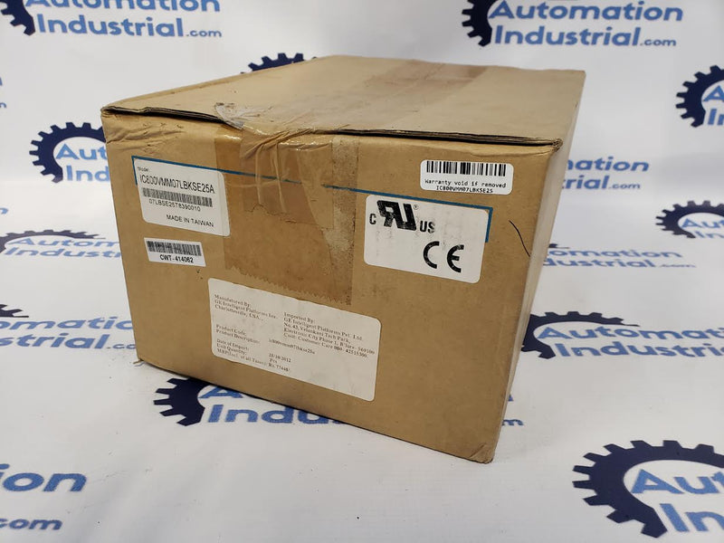 GE Fanuc IC800VMM07LBKSE25A VersaMotion Servo Motor New In Box