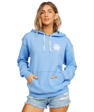 Beach Dream Hoodie X Small Blue Wink