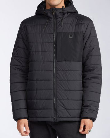 Journey Puffer Small Black