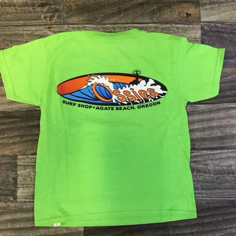 Ossies Kids Sasquatch XS Lime Oval