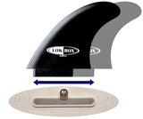 Lok Box XT1 Twin Fin Set