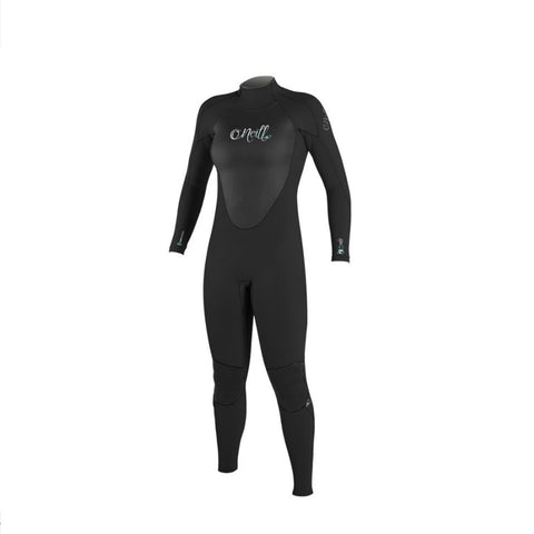Epic 4/3MM Backzip 16 Black