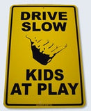 Surf Sign Drive Slow Kids At Play