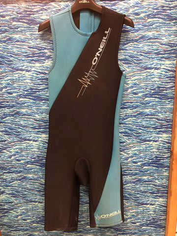 Used Wetsuit Oneill Shorty 2MM W XS