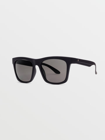 Volcom Jewel Matte Black Polarized