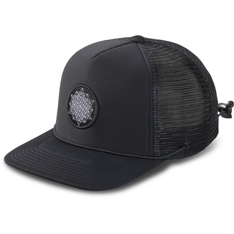 Lock Down Trucker Hat Black