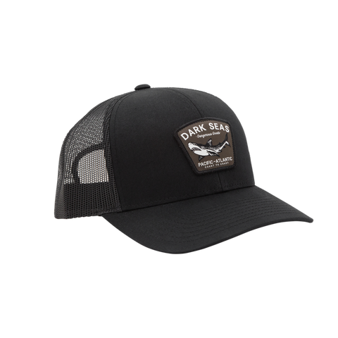 Black Tip Hat Black