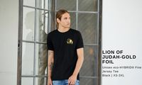 Lion of Judah- Fine Jersey T-shirt