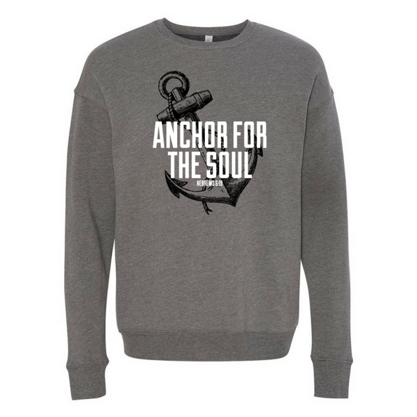Anchor-Unisex Sponge Fleece Drop Shoulder Sweatshirt