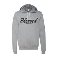Blessed-Athletic Heather Unisex Pullover Hoody