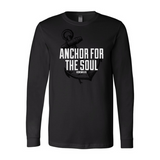 Anchor-Black Softstyle Long Sleeve T-Shirt