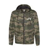 Savior- Forest Camo Light Weight Windbreaker Zip Jacket