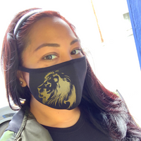 Lion of Judah- Black Double Layer Mask