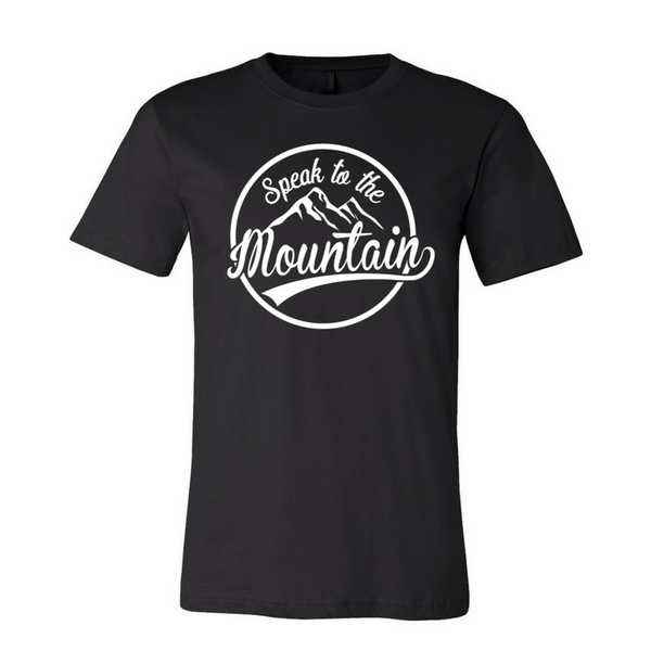 Speak to the Mountain-Unisex Fine Jersey T-shirt