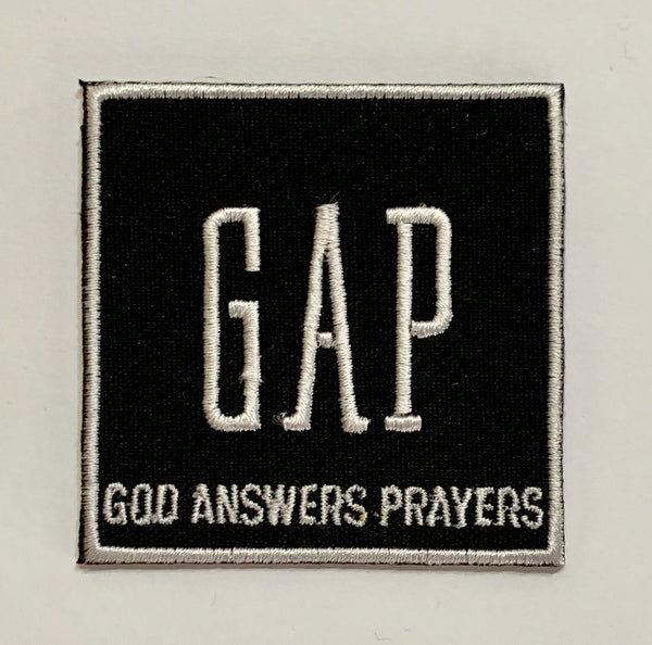 GAP-Embroidered Patch